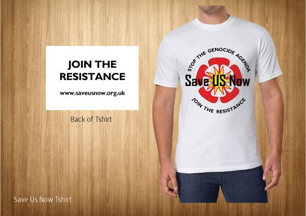 Save us now T shirt